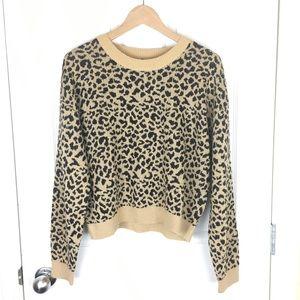 NWT leopard print sweater